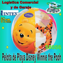 Pelota Inflable Disney Winnie Pooh 61cm Diametro Intex Playa