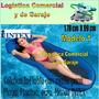 Colchon Colchoneta Flotadora Inflable Con Malla Intex Playa