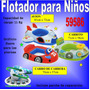 Flotador Bote Inflable Niños Con Orificio 59586 Avion Carro