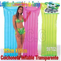 Colchon Colchoneta Flotadora Inflable Adulto Intex 59702