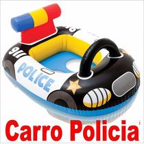 Flotador Inflable Para Niños Avion Carro (orificios) 59586