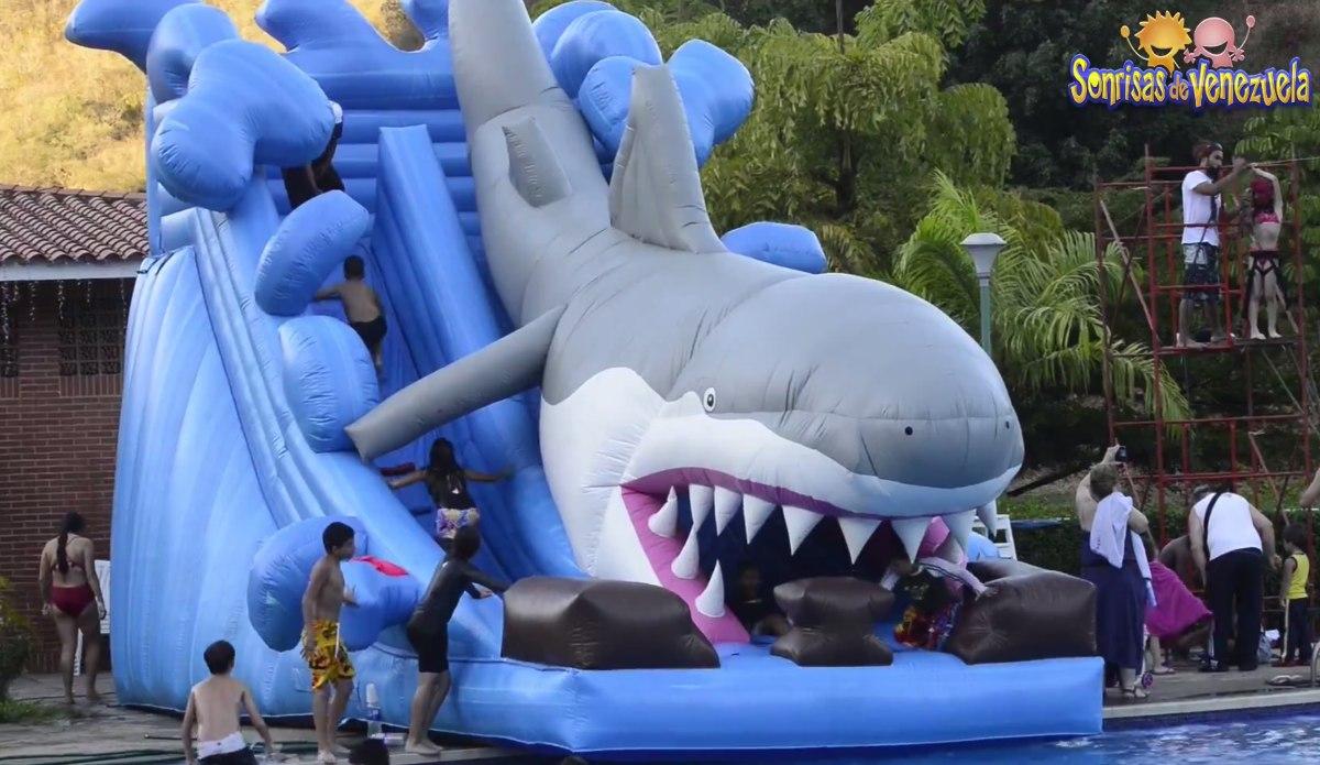 Inflables para piscinas y tirolina para fiestas infantiles for Precio de piletas inflables