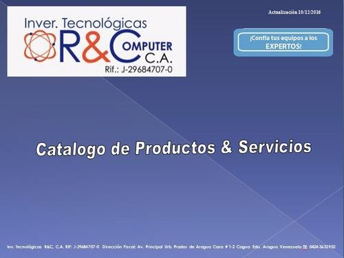 Informatica - Computación - Redes Soporte Técnico Servicio