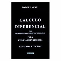 Libro Nuevo Calculo Diferencial, Jorge Saenz Nuevo