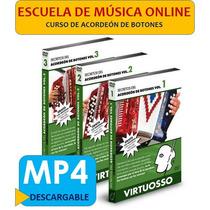 Acordeón De Botones Virtuosso® - 3 Volúmenes