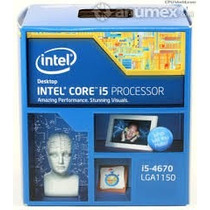 Procesador Intel I5-4670 Lga 1150 (6m Cache, Up To 3.80 Ghz)