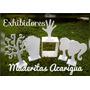 Exhibidor Mdf Collares Cabeza Lazos Cintillos Portalazos