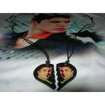 Justin Bieber Collares En Resina Cristal Artistas Online