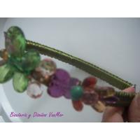 Cintillos De Piedras Hermosos En Varios Colores A La Moda