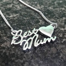 Bellos Moda Fashion Collares Best Mom Regalo Madre