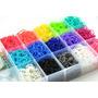 Ligas Para El Rainbow Loom 300 Ligas+ 14 Clips S
