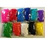 12 Paquetes De Ligas Para Rainbow Loom En Subasta !!
