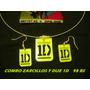 Combo Zarcillos Y Dijes One Direction Artistas Online