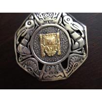 Wiracocha Dios Principal Inca . Plata 925 Y Oro.