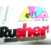Gargantillas Rusher Big Time Rush Artistas Online