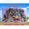 Miniaturas De Mario Bros En Masa Flexible