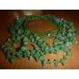 Preciosos Collares De Piedras Semi-preciosas De Jade (verde)