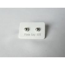 Zarcillos Botones Abridores De Plata 925 Calidad