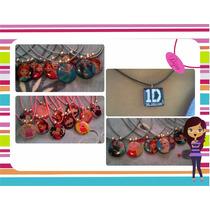 Collares/dijes Redondos 1 (excelente Calidad)personaliza *-*