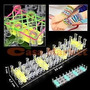 Kit Completo Rainbow Loom 1500 Ligas+80 Clips+06 Agujas
