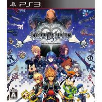 Juegos Ps3 Disney Kingdom Hearts Hd 2.5 Nuevo Y Sellado!