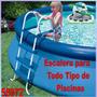 Escalera Para Todo Tipo De Piscinas Familiare 76x91cm Intex