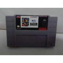 Super Nintendo Snes Juego Ea Sport Soccer