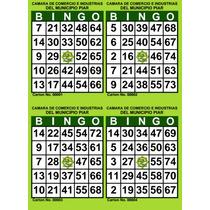 Cartones De Bingo Para Imprimir Pdf (2000 Cartones) 500 H.
