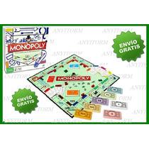 Juego De Mesa Monopoly Original De Hasbro Envío Gratis