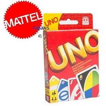 Cartas De Uno Mattel Original Nueva Juego Mesa Juguetes Niño