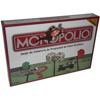 Monopolio Clasico Tablero De Lujo En Español Figura Metalica