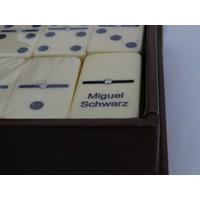 Domino 8 Grabados Madera Vera Profesional Piedra Grande
