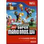 Juego Original Super Mario Bros Y Otros Nintendo Wii Y Wii U