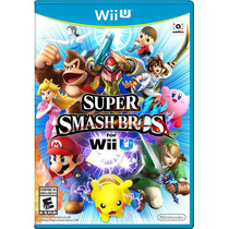 Super Smash Bros. - Nintendo Wii U (100% Nuevo Sellado)