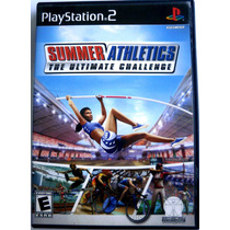 Juego Ps2, Summer Athletics.