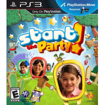 Ps3 Start The Party Para Playstation 3 Compatible Con Move