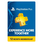 Membresia Gold Playstation Plus 1 Año Psn Ps3 Ps4 Psvita