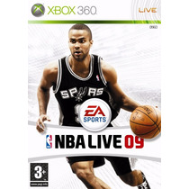 Xbox 360 Nba Live 09, Basket