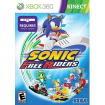 Juegos Xbox 360 Sonic Free Riders Kinect Nuevo Y Sellado
