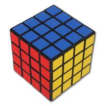 Cubo Rubik 4x4 Speed Cube Marca Shengshou Color Negro