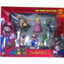 6 Figuras De Super Mario Bros Original - Sellado