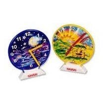 Reloj Didactico De Madera Dia/noche