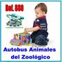 Juguete Bus De Animales De Zoologico Didáctico