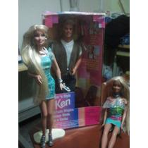 Ken Afeitada Magica. Barbie. Max Steel Con Su Lancha.