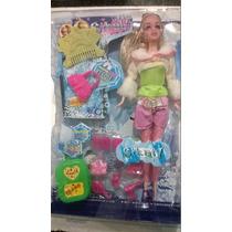 Muñeca Sikaly Tipo Barbie Originales Regalo Para La Niña New