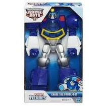 Héroes Playskool Transformer Chase El Policia - Bot