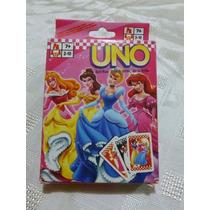 Juego De Cartas Uno De Las Princesas Disney Para Niñas