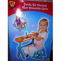 Piano Electrónico Con Micrófono Para Niños El Mejor Regalo