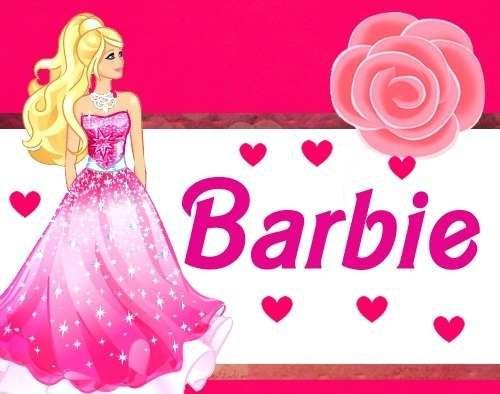 Crear Tarjetas Personalizadas De Barbie Imagui