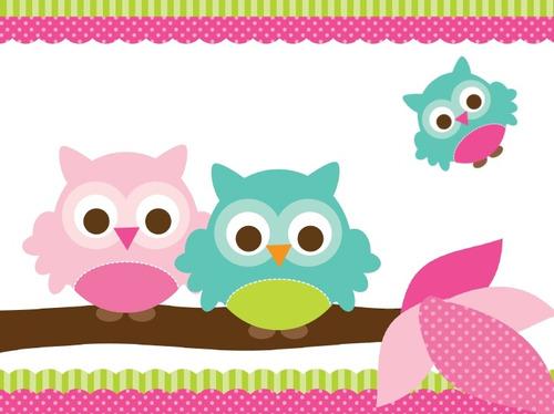 Buhos bebés animados para imprimir - Imagui